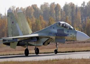 Su-30SM savaş uçağı ilk uçuşunu tamamladı
