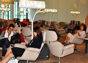 Paris'e çok özel yolcu salonu!