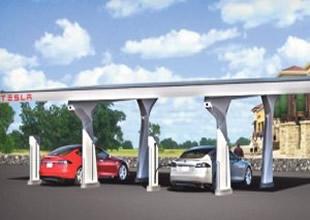 Elektrikli Tesla yollara bedava şarj zinciri kurdu