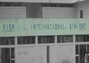 Somali'nin Kismayo Havaalanı, bombalandı
