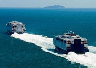Marmara Denizi'nde feribot savaşı başladı