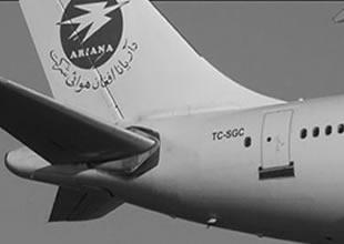 Saga Hava Yolları'nın uçağı gökyüzüyle buluştu