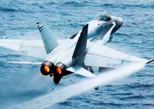 Savaş jetleri deniz suyuyla uçacak!