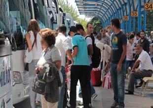 Terminale haciz Bursa'yı kilitledi