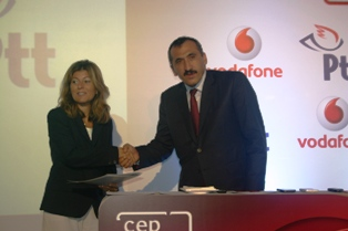 Vodafone Türkiye ile PTT 'den yenilik
