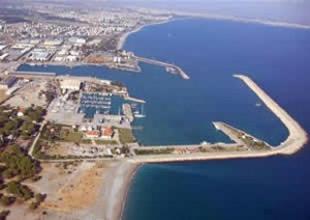 Antalya'da 564 bin metrekarelik yeni bir liman