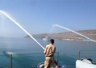 TCG Ç-151 Bahr El Sadaka tatbikatına katılıyor