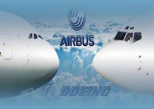 Boeing, Airbus'a uçak satışında fark attı
