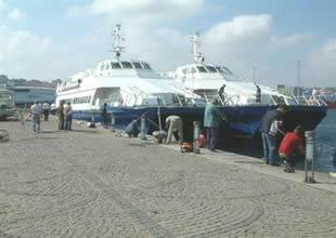 Bandırma'da deniz otobüsü arızalandı