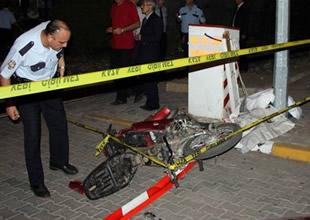 Tren motosiklete çarptı: 1 ölü