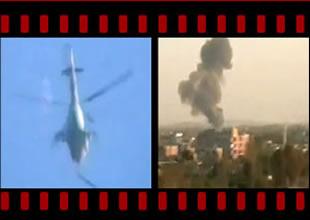 Esad ordusuna ait askeri helikopteri düşürdü