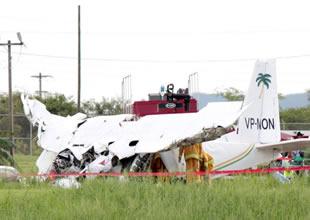 FlyMontserrat şirketine ait uçak düştü