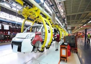 Otomotiv üretimi yüzde 10 oranında azaldı