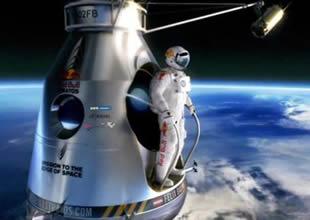 Uzaydan atlayış rüzgardan dolayı iptal edildi