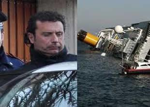 Costa Concordia'nın kaptanı işsiz kaldı