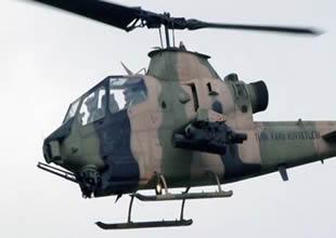 Askeri helikopter Kırşehir'e acil iniş yaptı