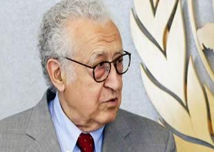 Brahimi Suriye görüşmeleri için Türkiye'ye geldi