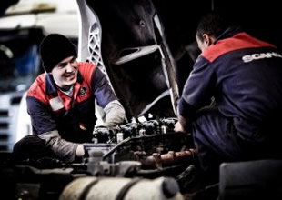 """Scania """"en iyi teknisyeni""""ni seçiyor"""
