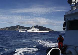 Çin gemileri yine adalara doğru yola çıktı