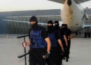 Havalimanı'nda uçak kaçırma tatbikatı