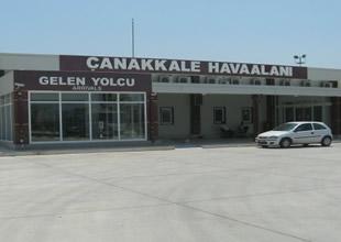 Çanakkale Havaalanı'nda yolcu artışı