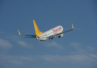 Pegasus,Gazipaşa Havalimanı'na uçuyor