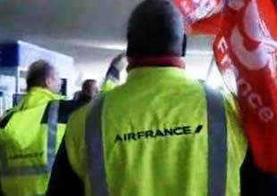 Gaulle Havaalanı'nda grev gerginliği
