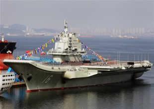 Çin ilk yerli uçak gemisi için kolları sıvadı
