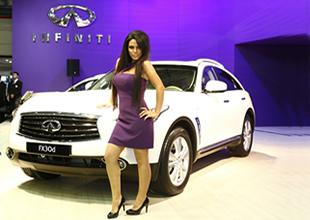 INFINITI, Autoshow'da modellerini sergiliyor