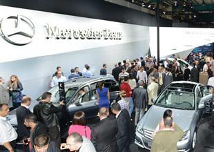 Mercedes-Benz AutoShow'da sergileniyor