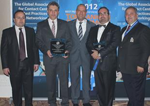Turkcell Global Bilgi şampiyonlukla döndü