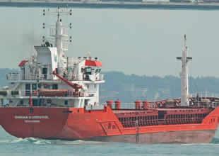 Çanakkale Boğazı'nda yük gemisi arızalandı