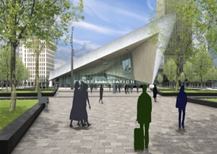 Rotterdam yeni tren istasyonu açılıyor