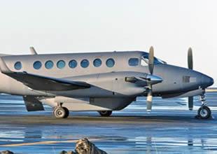 TSK, gözetleme uçağını ilk kez kullandı