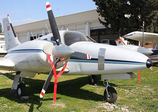 Seneca III TC-IDA uçağını teslim aldı