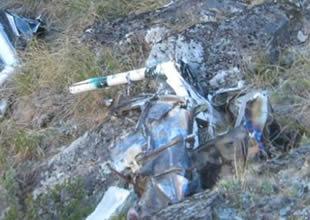 Donanmaya ait helikopter düştü