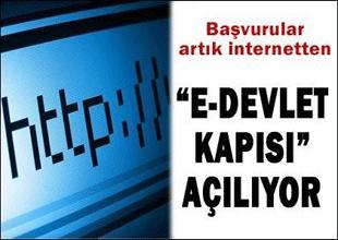 "E-Devlet'in ""www.türkiye.gov.tr""  sitesi"