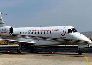 Hava Ambulans'ı 130 kez havalandı