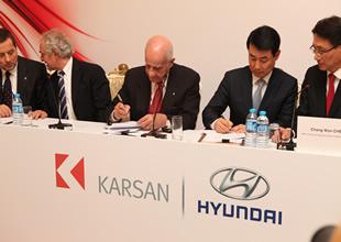 Karsan ve Hyundai anlaşma imzaladı