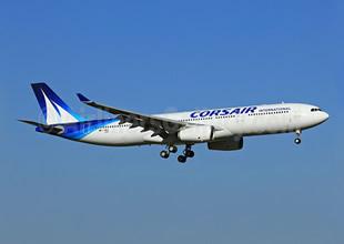 Corsair ilk A330-300'ünü kutluyor