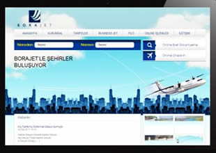 Borajet Havayolları web sayfasını yeniledi