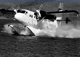 Artvin ve Rize'de deniz uçuşu heyecanı