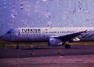 Türk Hava Yolları'nın uçaklarına kış engeli