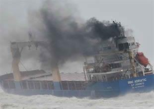 Sürüklenen gemide kontrol sağlandı