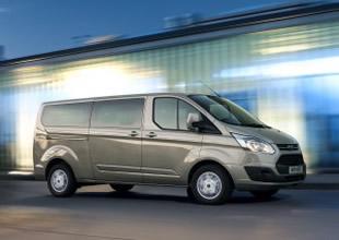 5 yıldızlı Yeni Ford Transit Custom