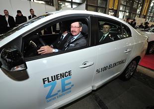 Renault Fluence Z.E. filosu teslim edildi