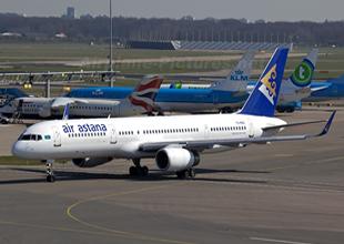 Air Astana ilk A321'ini teslim aldı