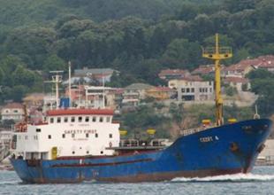 Ege Denizi'nde Türk gemisi yandı