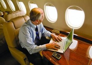 Uçakta cep ve internet dönemi geliyor
