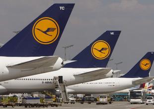 Lufthansa'da pilotlar 3 gün grev yapacak